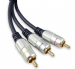 3 x Phono to 3 x Phono Lead (RCA) - 3 Metres